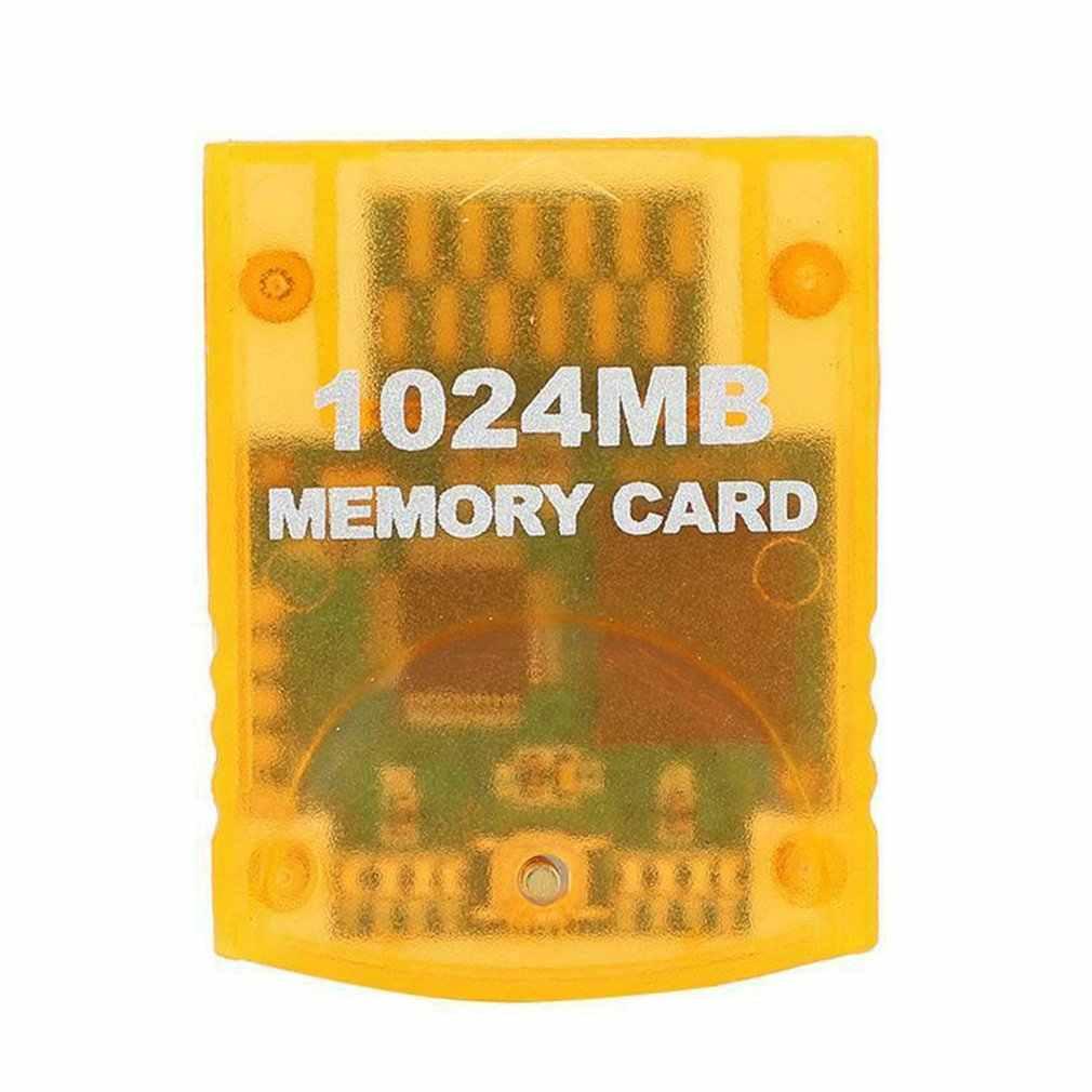 1024MB accesorios para juegos de tarjetas de memoria de gran capacidad para consola de juegos de WII Gamecube módulo para guardar datos de juego