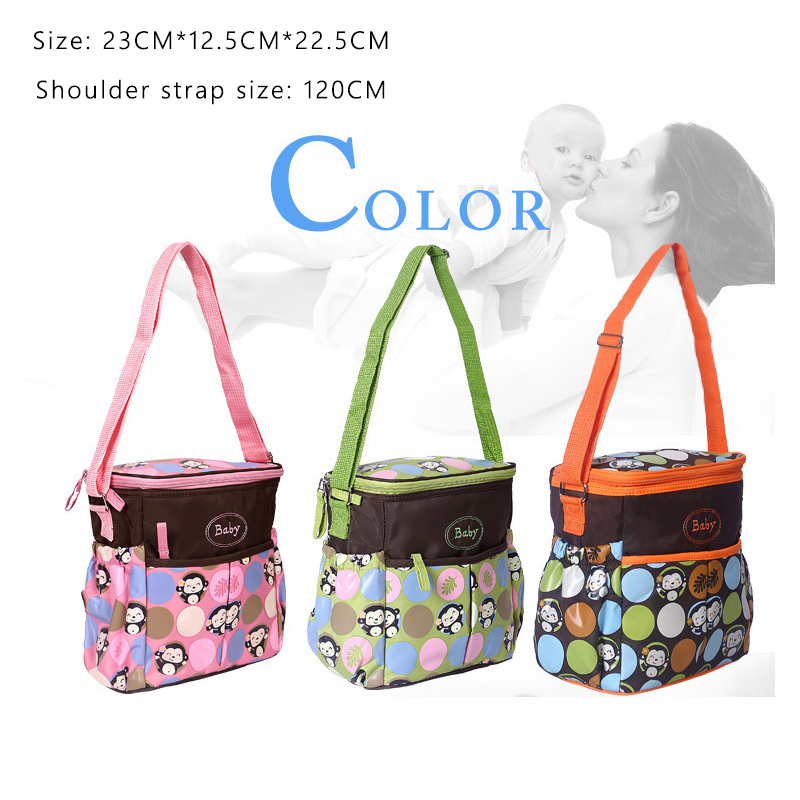 Hot Sale Large Capacity Diaper Bag One Shoulder Baby Bag Nappy Bag Women Travel Handbag Baby Nursing Maternity Bag Luiertas