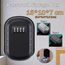 Safe-Box Key-Storage Combination Password-Lock Outdoor 4-Digit Weatherproof-Box