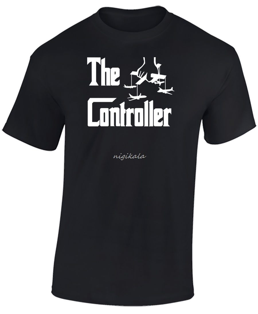 AIR TRAFFIC CONTROL T SHIRT - FUNNY, JOKE ATC T SHIRT -THE CONTROLLER