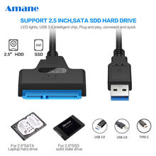 Usb Sata Cable Sata 3 To Usb 3.0 Adapter Computer Cables Connectors Usb Sata Adapter Cable Support 2.5 Inches Ssd Hdd Hard Drive