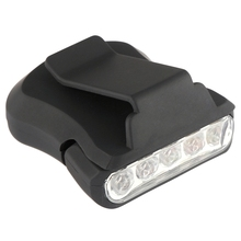 5 Led head light lamp Cap Light 90 Degree Rotatable Clip-On Hat Hands Free Bright Lanterna Camping Cycling