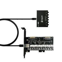 Переключатель питания PELOTE HD-PW6102 HDD, переключатель управления жестким диском, переключатель sata для настольного компьютера
