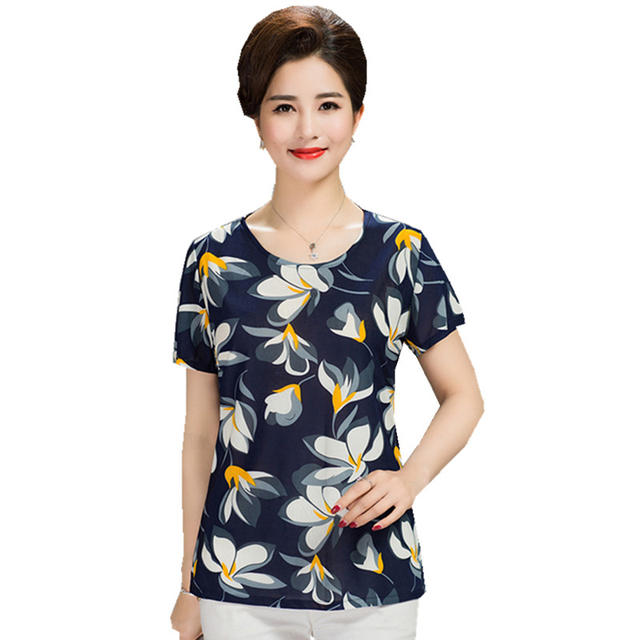 Plus Size 2020 Women Summer Tops Tees Short T-Shirt Women's Boat Anchor T shirt Female Tshirt Woman Clothes 1