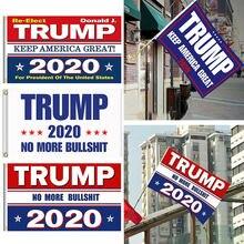 Флаг Трампа 150 2020x90 см двусторонний Печатный флаг Дональда