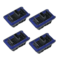 4Pcs Lifting Jack Pad Voor Bmw F25 X3 F15 X5 E70 X6 Onder Auto Ondersteuning 51717189259