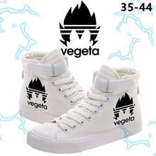 Dragon Ball Vegeta Logo Printing Men's Casual Canvas Shoes S
