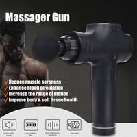 Low Back Pain Knees Percussive Massager Gun Sports 2500mah Multicolor Shoulders Body Massage Body Muscles 3 Files Crossfit