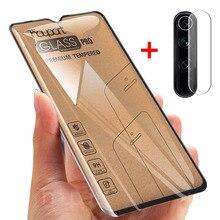 2 で 1 強化ガラス Xiaomi Redmi 注 8 プロ 8T Redmi 8 8A スクリーンプロテクター Xiaomi 注 8 Pro のガラスカメラフィルム