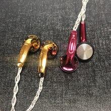 FENGRU Goldene MX 3,5mm Ohrhörer 32ohm PU Verbund Membran Dynamische Treiber DJ HIFI Headset Bass Ohrhörer PK Vido MX500 PK2 PK1 Mönch