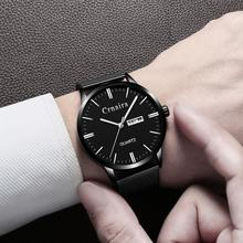 Watch Men Watches 2019 Ultra-Thin Business Men Watches Quartz Stainless Steel Band Simple Date/Week Wrist Watch for Male Clock цена и фото