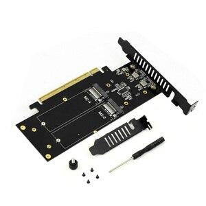 Image 5 - JEYI IHyper M.2 X16 Để 4X PCIE3.0 GEN3 X16 4 * Đột Kích Thẻ PCI E VROC Thẻ Đột Kích Hyper M.2X16 m2X16 4X X4 Đột Kích