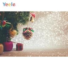 Yeele Christmas Photocall Bokeh Lights Gift Balls Photography Backdrops Personalized Photographic Backgrounds For Photo Studio yeele christmas photocall bokeh lights glitter pine photography backdrops personalized photographic backgrounds for photo studio