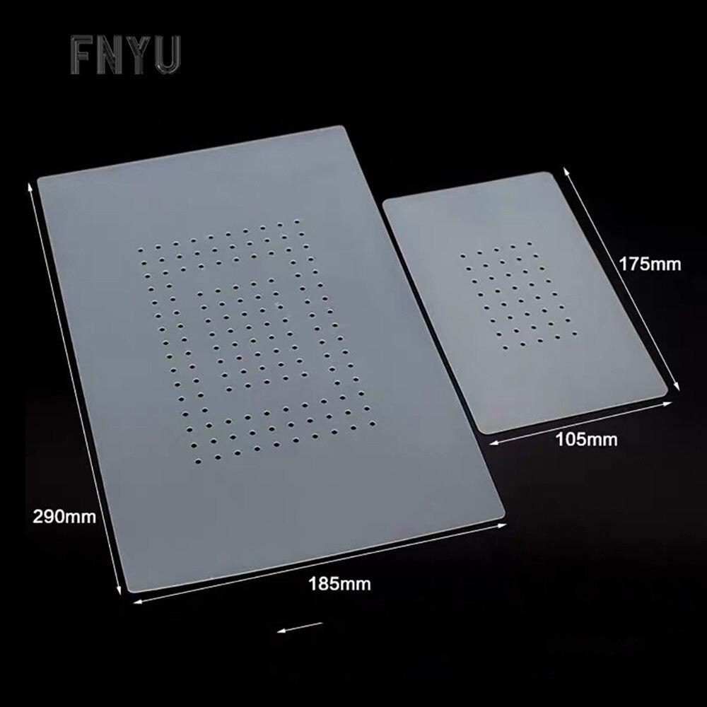 Vacuum Separator Non-slip Mat Cell Phone LCD Screen Repair High Temperature Resistant Silicone Mat 7 Inch 14 Inch Separator Mat