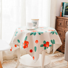 Pastoral Style Fabric Table Cloth Cotton Linen Thick Table Cloth Digital Printing Teapoy Table Tablecloth Bedside Cabinet TV Cab цена 2017