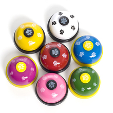 Pet Training Supplies Dog Training Bells Cat Dog Toys Colorful Stainless Dining Bell Puppy Training Equipment Device