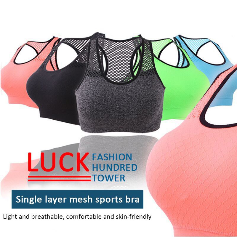Top Women Hollow Out Bra Push Up Padded Dry Quick Slim Tank Tops