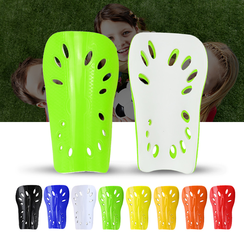 Teenager Soccer Shin Guard Pads Kids Boys Outdoor Football Breathable Shinguard Leg Protector Safety Potection Sports#N10