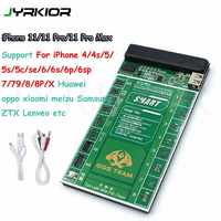 Jyrkior For iPhone 11Pro MAX X XR XS MAX/Samsung Battery Tester/Charger Charging Activation Circuit Board Tester Digital Display