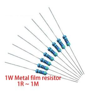 200 Pcs 1W Metal Film Weerstand 1% 1R ~ 1M 2R 10R 22R 47R 100R 330R 1K 4.7K 10K 22K 47K 100K 330K 470K 1 2 10 22 47 100 330 Ohm