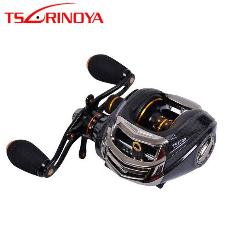 tsurinoya ts1200 baitcasting carretel de pesca 6 3 1 13 1bb mao direita carretel isca qualidade