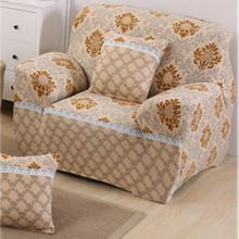 2019 Polar Fleece Slipcover Sofa Couch Cover Elastic full sofa Cover 1/2 Seater Stretch Pillow Case Chair Covers Pine недорого