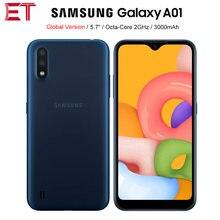 Globalna wersja Samsung Galaxy A01 A015F-DS 4G telefon komórkowy 5.7