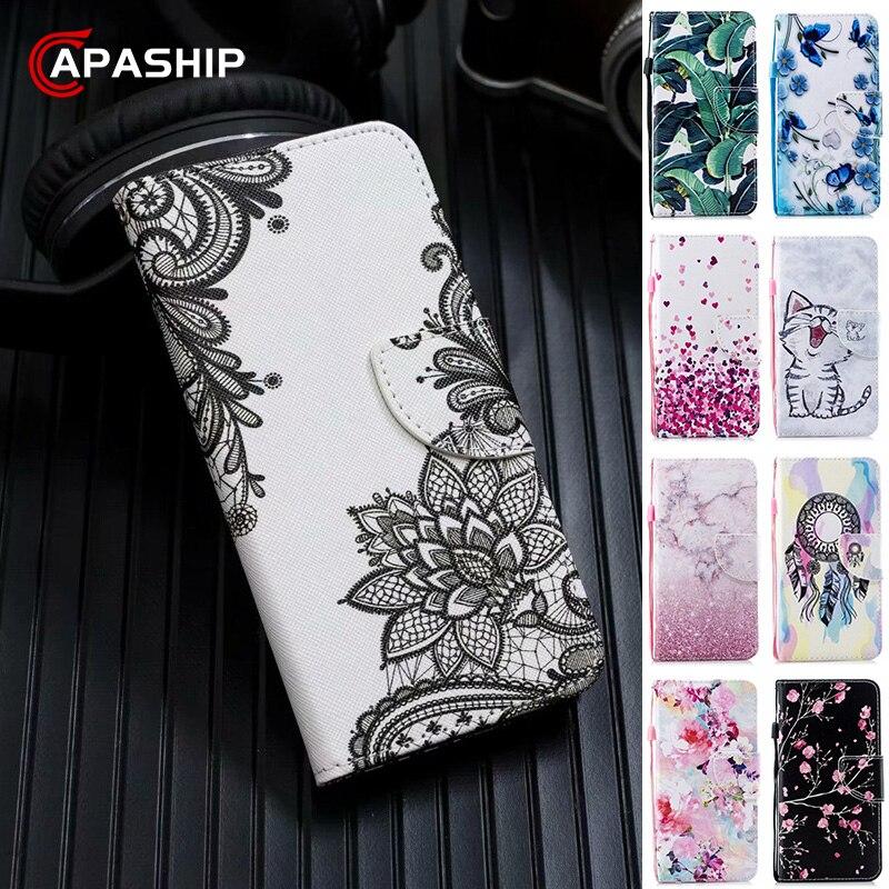 Магнитный кожаный флип-чехол для телефона 5 6 7 8 Pro 8Pro GO 4A 4X 5A 6A 7A 8A 8T, чехол-бумажник RedMi7 RedMi8 Capa Coque
