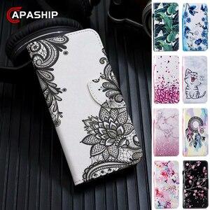 Magnetic Leather Flip Case For RedMi Note 4 5 6 7 8 Pro 8Pro GO 4A 4X 5A 6A 7A 8A 8T Cover Wallet Cases RedMi7 RedMi8 Capa Coque