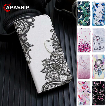 Magnetic Leather Flip Case For XiaoMi Mi 8 9 lite A1 A2 A3 5X 6X Pocophone F1 9T Pro CC9 Cover Wallet Cases RedMi 7A 8A 8T Coque flower luxury for xiaomi redmi mi 8 6 cc9 a2 lite 5x 6x a1 6a 4x 4a 5 9 plus note 4 5a prime pro cover case coque etui funda