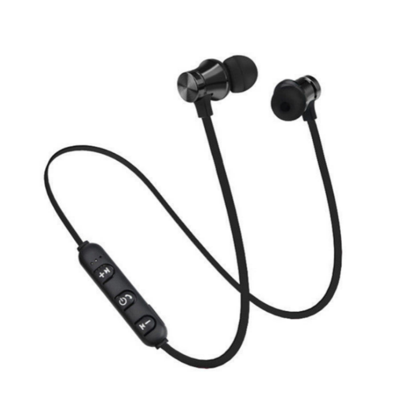NEW Magnetic Bluetooth Earphone Sport Wireless Headphone Bluetooth Headset Handsfree Earbuds With Mic For Huawei Xiaomi Samsung