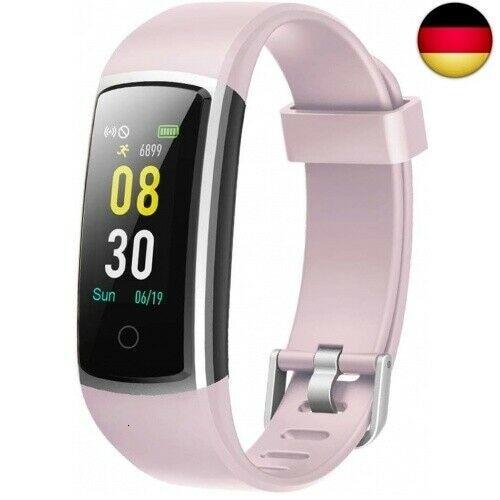 IP68 Smart Armband Pulsuhr Blutdruck Bluetooth Smartwatch Fitness Tracker Sport