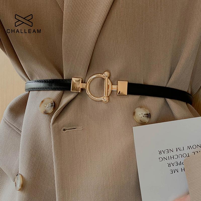 Ladies Adjustable Thin Belts For Women Fashion Luxury Brand Designer Style SkinnyCoat Jacket Dress Waist Belt Female x610