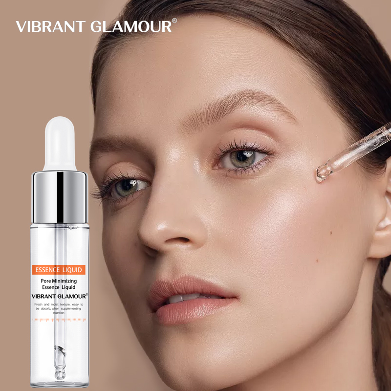 VIBRANT GLAMOUR Hyaluronic Acid Shrink Pores Face Serum Whitening Moisturizing Oil Control Anti Wrinkle Acne Cream Skin Care