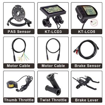 цена на Ebike Controller Parts Brake Sensor KT LCD Display LCD3 LCD5 E bike Motor Extension Cable Brake Lever Twist Throttle PAS Sensor