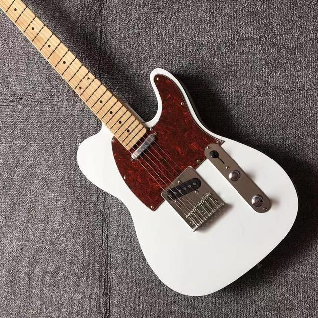 White TL maple fingerboard chrome hardware