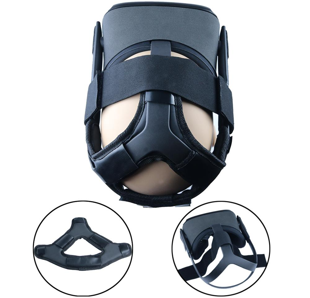 Newest Non-slip VR Helmet Head Pressure-relieving Strap Foam Pad for Oculus Quest VR Headset Cushion Headband Fixing Accessories 2