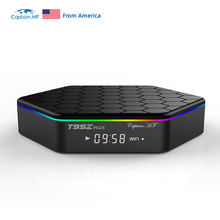 Captain HF T95Z Plus Smart TV BOX 2GB/16GB 3GB/32GB Amlogic S912 Octa Core Android 7.1 tv box Dual WiFi BT4.0 4K Set Top Box цена и фото