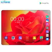 2020 Nuovo design da 10.1 pollici il Tablet Android 9.0 8 Core 6GB + 128GB di ROM Doppia Fotocamera 8MP SIM Tablet PC Wifi GPS 4G Lte telefono