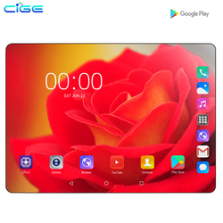 2020 neue design 10,1 zoll die Tablet Android 9.0 8 Core 6GB + 128GB ROM Dual Kamera 8MP SIM tablet PC Wifi GPS 4G Lte telefon