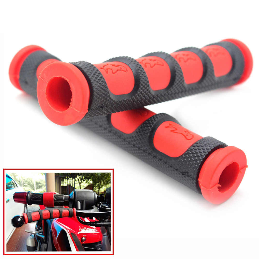 2Pcs//pair Motorcycle Brake Clutch Lever Cover Grips Handgrip Guard Rubber#