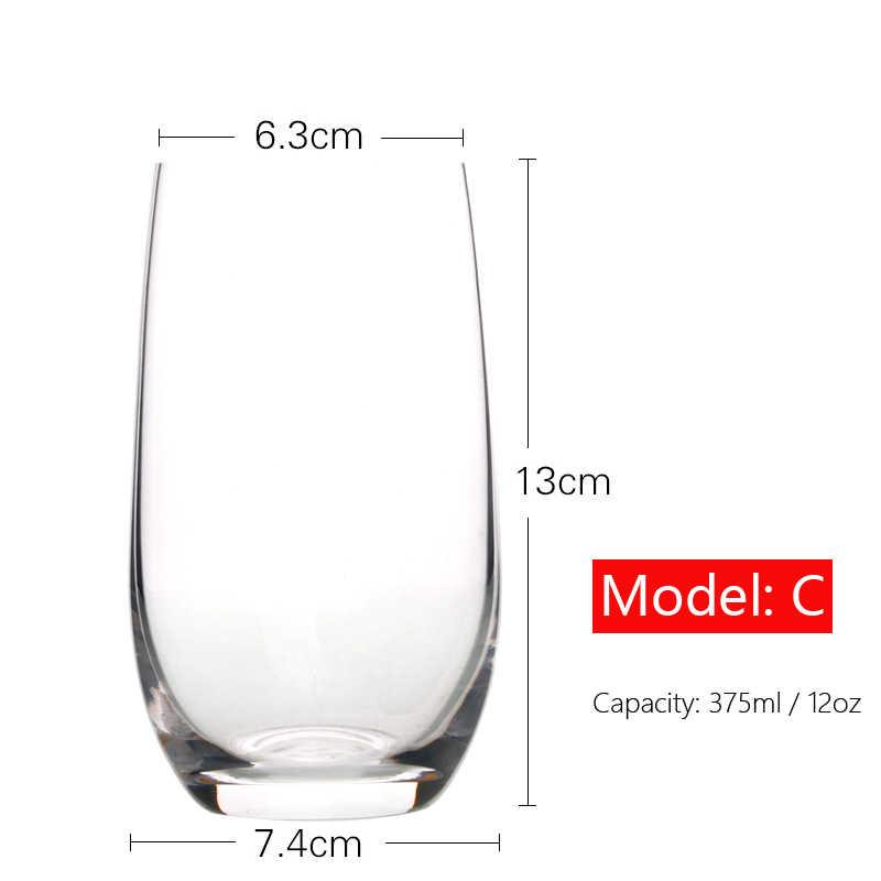 ส่วนบุคคล Stemless แว่นตาไวน์เครื่องแก้วแว่นตาดื่มถ้วยน้ำถ้วยของขวัญครบรอบสำหรับคู่ 12 Oz , 18 Oz H1241
