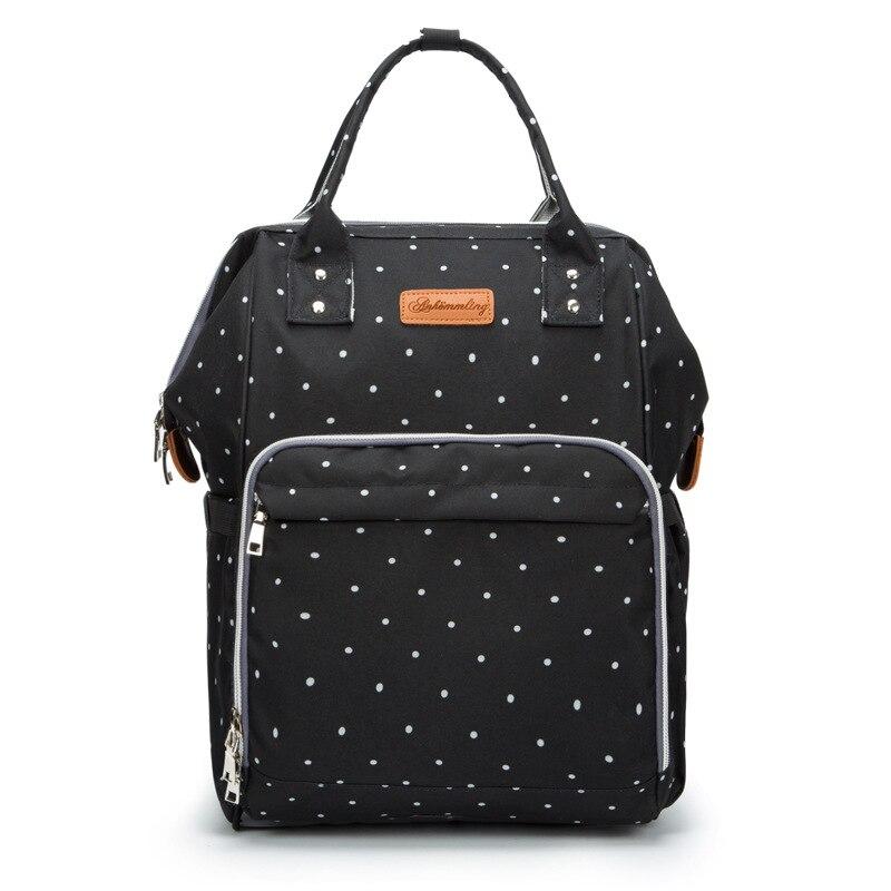 9 цветов, модная сумка для подгузников для мам, брендовая Большая вместительная детская сумка, рюкзак для путешествий, дизайнерская сумка