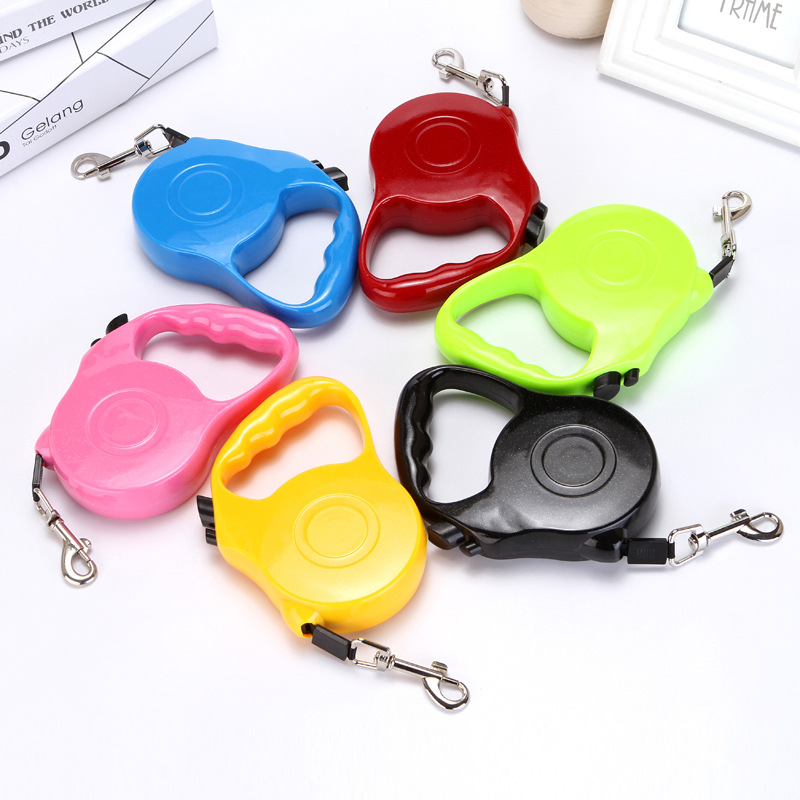 Automatic Retractable Dog Hand Holding Rope Pet Leashing Device Dog Chain Dog Rope Gato Negro Sheng Gato Negro Lian 188