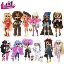 LOL Surprise Doll L.O.L., 100% Original Poupée jouet Marvels At OMG, Collection de poupon, poupon, poupon, poupon, poupon, bonbonnière, cadeau d'hiver