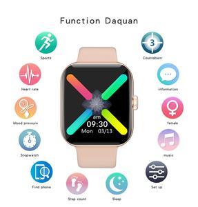Image 5 - LEMFO 1,54 zoll Full Touch Frauen Smart Uhr 2020 Männer Für Uhr Frauen Sport Modus Physiologischen Erinnerung Smartwatch Männer Frauen