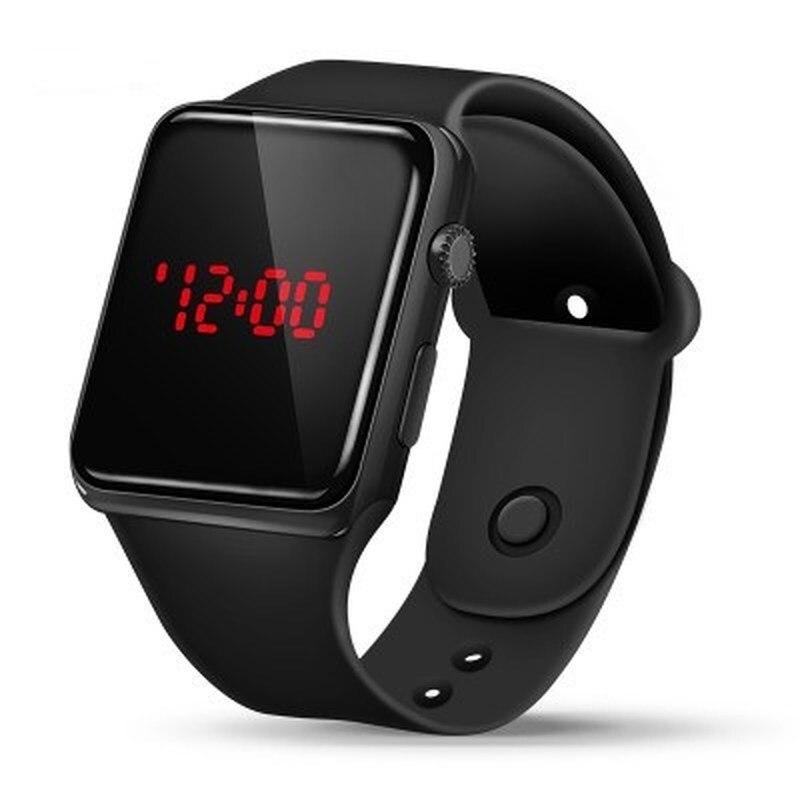 Горячая Распродажа 2021 Для мужчин спортивные часы светодиодный Для женщин пара электронные цифровые часы Relogio простой молодежных наручных ч...