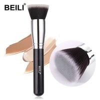 BEILI Professionelle Gesicht Make-Up Pinsel 1 PC Für Foundation Contour Flüssigkeit Blending Concealer Polieren Make-Up Pinsel Für Frauen