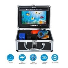 """Eyoyo 30м профессиональная камера рыбоискатель подводная рыбалка видео """" цветной монитор 1000TVL HD wi-fi-камера 12 шт. инфракрасные светы"""