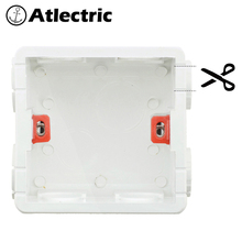 Wall Plate Cut Open Cassette Mounting Wall Switch Box And Wall Socket Box Junction Box For Sockets 86 Type Mounting Box wallpad american standard universal white wall mounting box for wall switch and socket back box 118 72mm